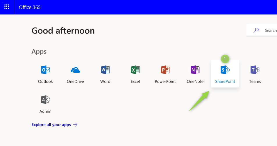 How to create and share SharePoint Modern Team Site - Office365 atWork