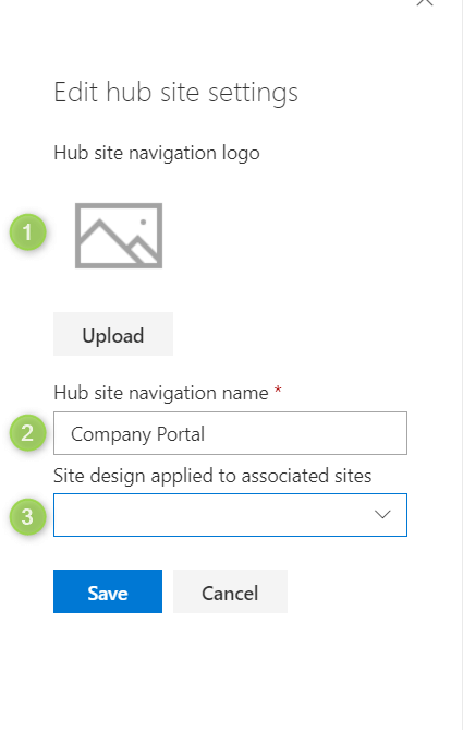 How to create SharePoint Hub site - Office365 atWork