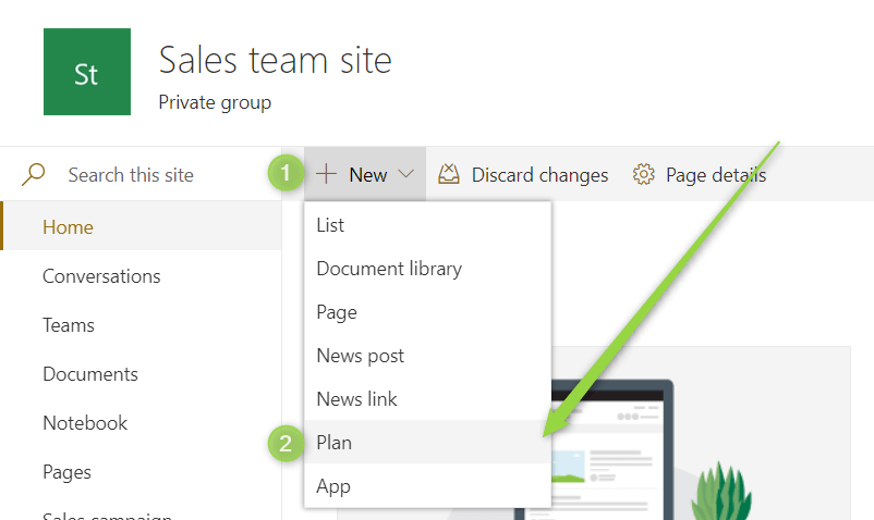 How to integrate Microsoft Planner with Teams & SharePoint