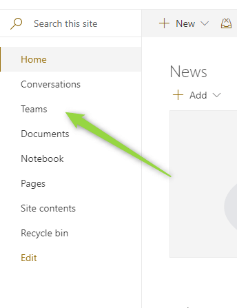 How to integrate Microsoft Teams with SharePoint - Office365