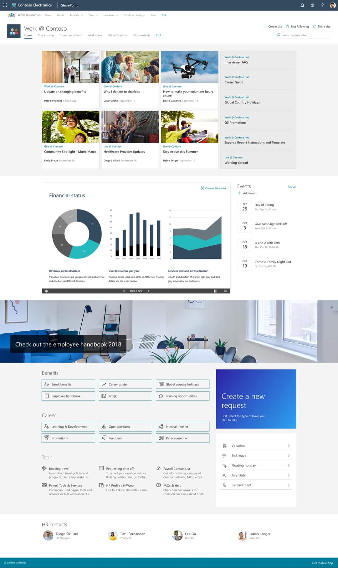 12 Great Examples Of Modern Sharepoint Intranet Microsoft365 Atwork,Design West Architects