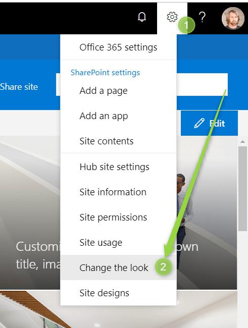 SharePoint Modern Intranet: Global navigation - Office365 atWork